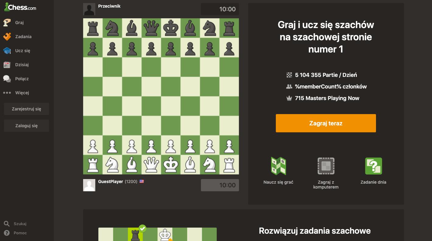 program do nauki gry w szachy chess com