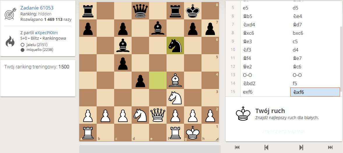 lichess zadania szachowe